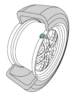 Technical Drawing Tire Pressure - Melexis