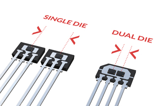 Dual Die Concept Latch Switch Sensor - Melexis