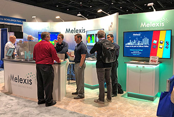 Melexis at Sensors Expo in San Jose third year in a row #Melexis