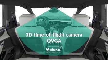 3D time-of-flight camera QVGA #melexis