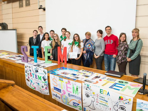 STEM project in Kyiv - Melexis