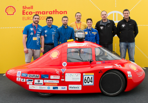 STEM project in Sofia - Shell Eco Marathon - Melexis